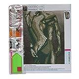 EElabper 1 Conjunto de Bricolaje 5d Diamante Arte de la Pintura del Kit del Cuerpo Humano Bordado de Punto de Cruz roundrhinestone Cristales Pintura Juegos de Bordar