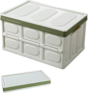 Plastic Folding Organizer 56L Robust And Wear Resistant Save Space Large Capacity Easy Carry