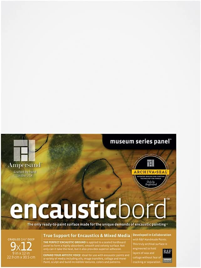 Ampersand Limited time trial price Art Supply Wood Painting Panel: Encausti Series Museum Manufacturer OFFicial shop