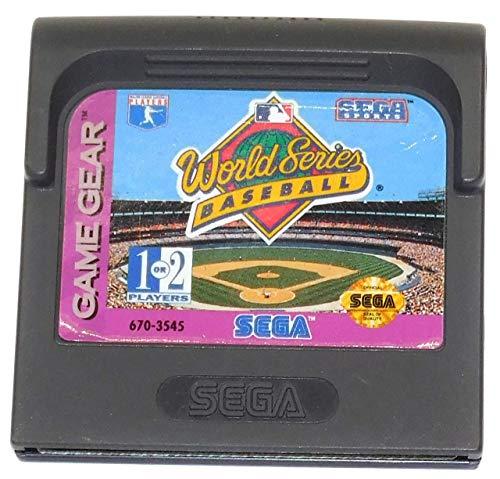 World Series Baseball Vintage Sega Game Gear Video Game Cartridge