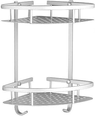 Organizador de Baño Regadera Estante para Baño de Ducha Aluminio Estantes Esquinero Organizadores Corner Shower Caddy Pared E