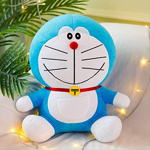 DOUFUZZ SNHPP Sage un sueño muñeca de Felpa Juguetes Grandes Ding-Dong Gato muñeca Dibujos Animados Enviar a Las niñas Regalo de cumpleaños Clásico 50cm (0.66kg) Sonrisa clásica