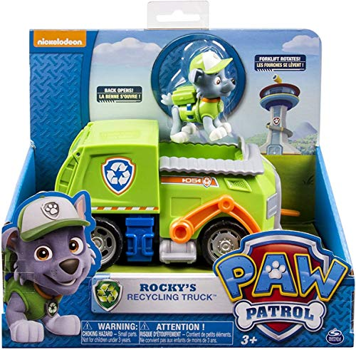 Paw Patrol - Rocky's Recycling Truck (Spin...