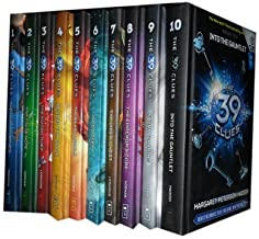 The 39 Clues 1 to 10 Books Set Collection. (The Maze of Bones, One False Note, The Sword Thief, Beyond The Grave, The Black Circle, In Too Deep, The Vipers Nest, The Emperors code, Strom Warning, Into the Gauntlet) (The 39 Clues))