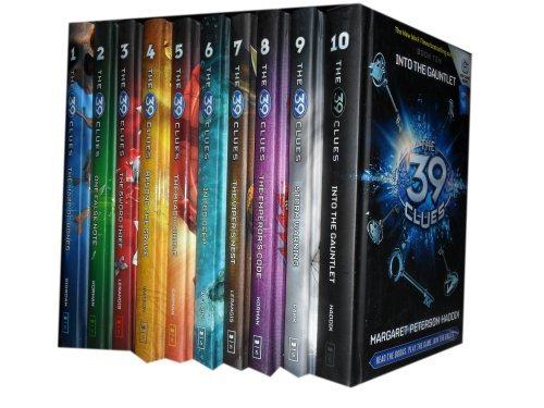 The 39 Clues 1 to 10 Books Set Collection. (The Maze of Bones, One False Note, The Sword Thief, Beyond The Grave, The…