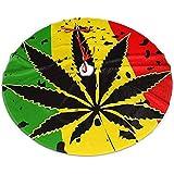 Myrdora Falda de árbol de Navidad Weed Cannabis Rasta Xmas Party Holiday Decoration