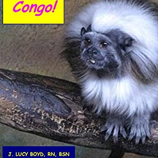 Congo! audiobook cover art