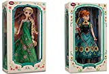 Disney - Limited Edition Anna Doll and Elsa Doll Set From Frozen Fever - 17'' Each - New in Box