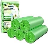 Bolsas de Basura Biodegradables, Bolsas Basura Compostables 20l, 100 Unidades,...