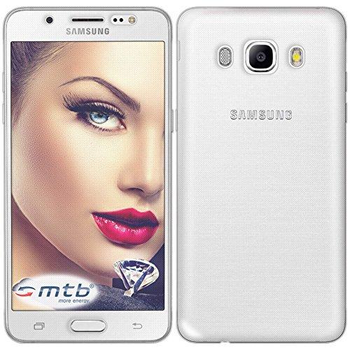 mtb more energy® TPU Schutz-Hülle Twin (Vorder- und Rückseite) für Samsung Galaxy J5 2016 (SM-J510, 5.2'')- 360 Grad Rundumschutz