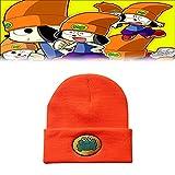 TythGHp Cartoon TV Parappa Gorro de Punto, Parappa The Rapper, Soft Knitted Beanie Hats Unisex(Parappa Hats)