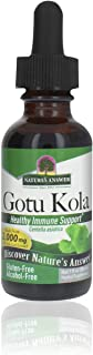 Nature's Answer Gotu Kola Herb Alcohol Free, 1-Fluid Ounce | Dietary Supplement | Supports a Healthy Immune System | Made ...