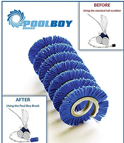 Purchase Pool Boy Brush Original Pool Cleaner Attachment - Replacement for Polaris and Pentair Pool ...