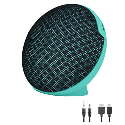 Kariwell New Mini Desktop Bluetooth Speaker - FM Fuctio TF Card & U Disk Compatible with Smart Phones Tablet PCs iPods Best Gift for Friend Kari-73 (Mint Green)