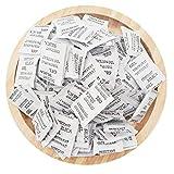 ECYC Paquete De 60 Paquetes De Desecante De Humedad De SíLice GE, Bolsas Absorbentes De Humedad No TóXicas para Ropa, Alimentos, Sala, Cocina (3g/Paquete)