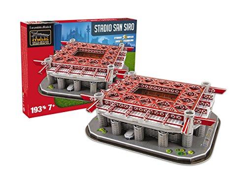 Giochi Preziosi- San Siro AC National Soccer Club Stadio Ssiro Milan 15126 Personaggi Playset iLI Gioco 493, Multicolore, 8001444151268
