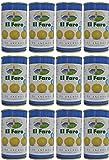 El Faro - Aceitunas Rellenas de Anchoa 350 gr. Cantidad Escurrida 150 gr. - [Pack 12]