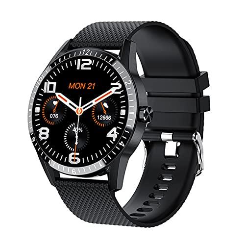 DKM Smart Watch, Y20, Impermeable, Llamada Bluetooth, Pulsera Deportiva, Ritmo Cardíaco Y Presión Arterial Smartwatch Mujeres para Mujeres para Android iOS,B