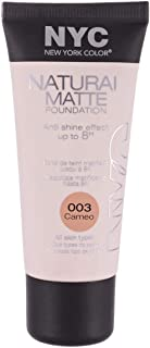 Natural Matte Foundation by NYC, 003 Cameo