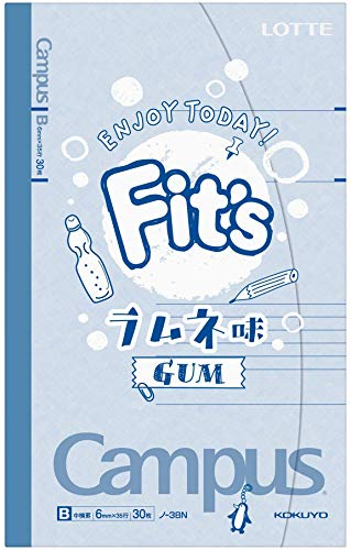 Fit's キャンパスノート ラムネ味 10個
