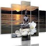 Feeby Frames, Cuadro en Lienzo - 5 Partes - Imagen, Impresión, Cuadro decoración,...