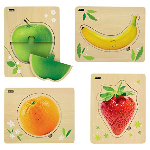 Nathan NATHAN387174 My First Puzzle Frutta in Legno ( Pezzi)