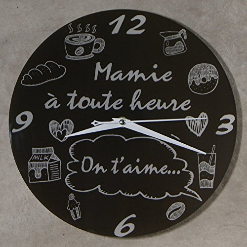 L'horloge mamie à toute heure on t'aime