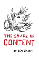 The Shape of Content (The Charles Eliot Norton Lectures)