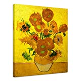 Wieco Art Large Modern Abstract Flowers Giclee Canvas...