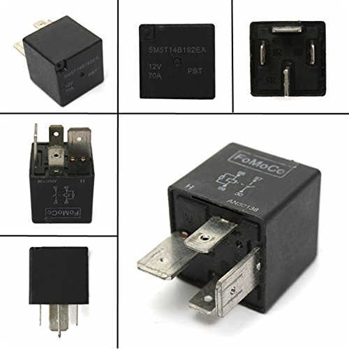 Ils – 12 V 4 Broches 70 A 70 Amp Heavy Duty Split Charge on-Off Relay for Motor Bike Car Bike