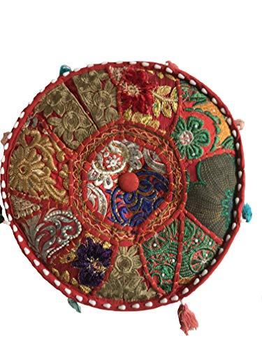 pouf zen Zen - Pouf da meditazione ricamato a mano