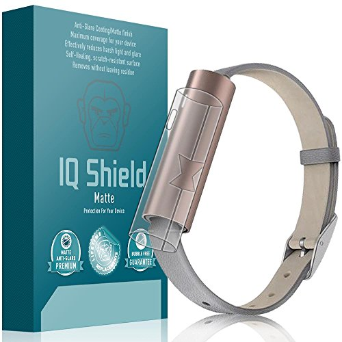 IQ Shield Matte Full Body Skin Compatible with Misfit Ray (Fitness Tracker), Anti-Glare (Full Coverage) Anti-Bubble Film