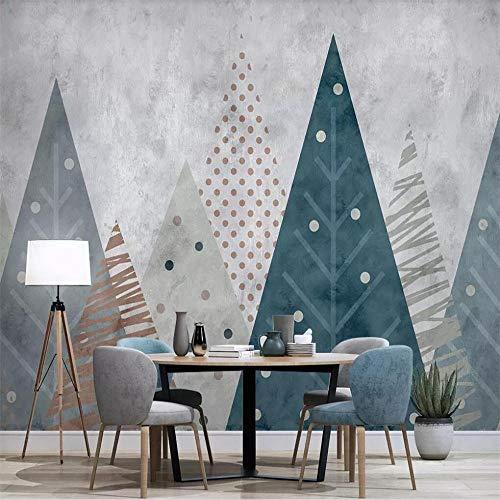 muurschildering muur Muralscustom 3D behang moderne eenvoudige geometrische tv bank achtergrond muur professionele maken muurschildering foto behang About 300*210cm 3 stripes