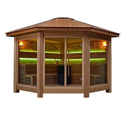 EO-SPA sauna LT1501A rode ceder 350x350 10.8kW Vitra Combi
