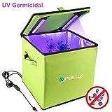 PULUZ Caja de esterilización UV, caja de tienda de desinfección de 30 cm,...