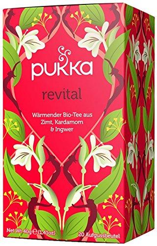 Revital PUKKA Tee BIO 4 Packungen à 20 Teebeutel