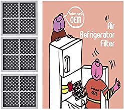 ?Enterpark? Premium Quality Cost Effective Part for LT120F, ADQ73214404, 469918 Replacement of Refrigerator Air Filter (3 Air Filter Pack)