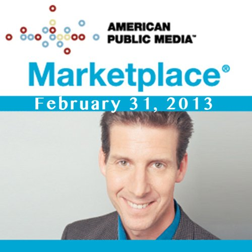 Marketplace, January 31, 2013 cover art