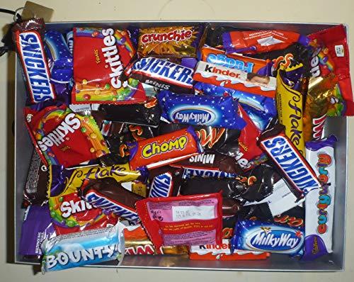 MEGA 80 Chocolate Hamper, Selection Box. Gift Box. 80 TREATSIZE Bars/Bags.