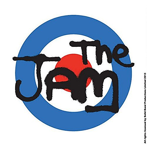The Jam Classic Logo Single Cork Coaster Drinks Music Band Official Merchandise