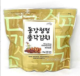 【江原東江】ガンウォンドンガン 白菜キムチ 「韓国産」(1kg) (大根キムチ)