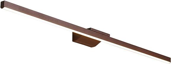 Spiegellamp, moderne minimalistische LED waterdicht en anti-mistbadkamer toilet en -kledingtafel speciale spiegel kabinet ...