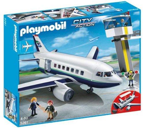 PLAYMOBIL 5261 - Avión y Torre de control