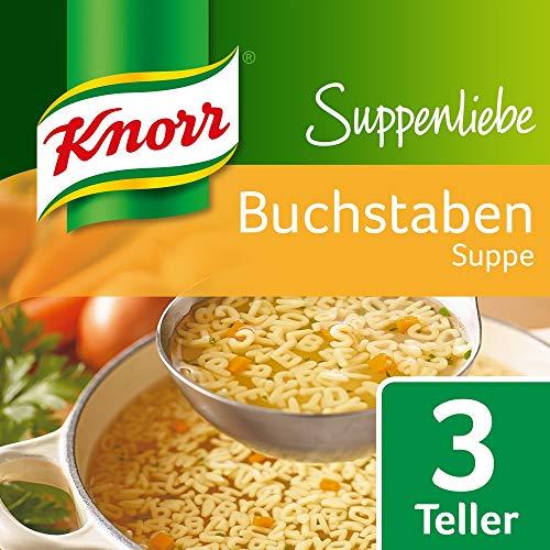 Knorr Suppenliebe Fertiggericht Buchstaben Suppe, 14 x 82 g