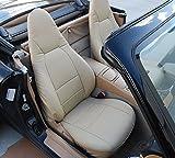 MAZDA MIATA 2001-2005 BEIGE Artificial leather Custom Made Original fit seat cover