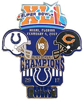 Super Bowl XLI Oversized Commemorative Pin - Colts Champs by Pro Specialties Group