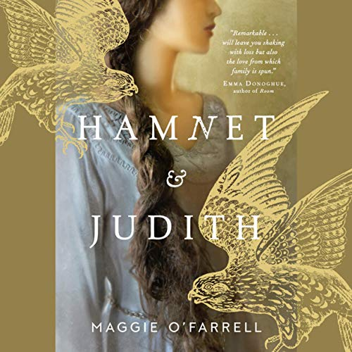 Hamnet and Judith audiobook cover art