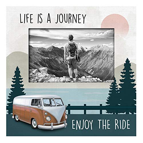 Carson 11530 Enjoy The Ride Frame, Holds a 4 x 6 Inches Photo