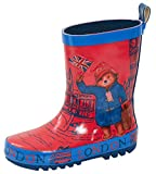 Paddington Bear Kids Rubber Wellington Boots 11 UK Child