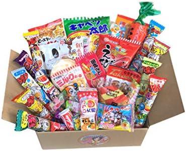 GIFT Japanese Snack Assortment 35 pcs of 27 types Full of DAGASHI OHIMESAMA Snack Selection product image